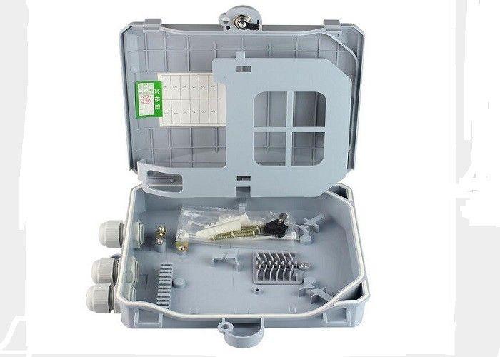 Fiber Optic Terminal Box Wall Indoor Splice//Distri.panel 8Core FTTH Box Kit